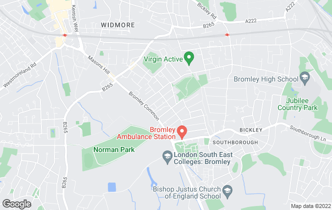 Map for George Proctor & Partners, Bromley