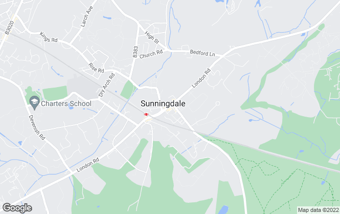 Map for Winkworth, Sunningdale