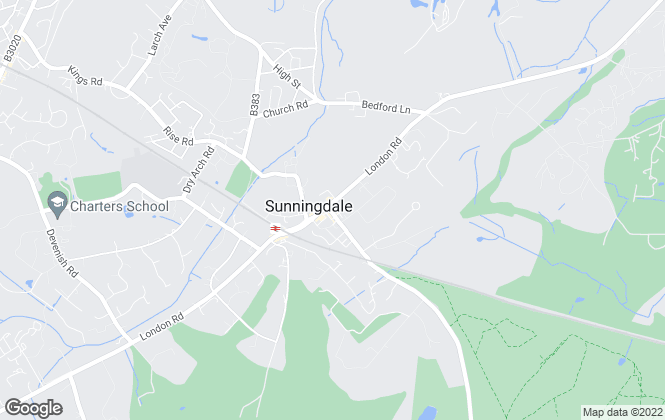Map for Chancellors , Sunningdale New Homes