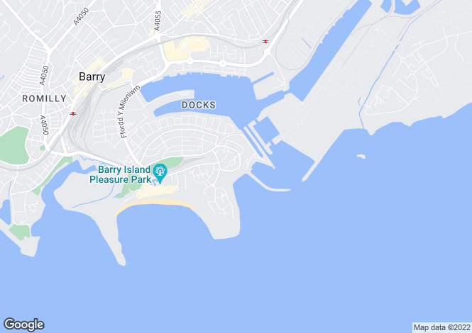 Map for Redbrink Crescent, BARRY, Vale Of Glamorgan