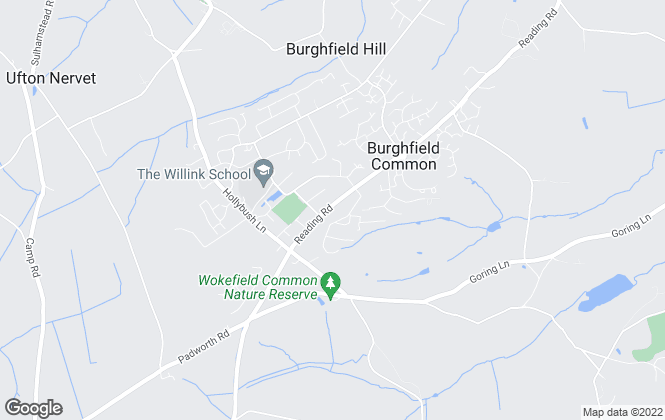 Map for Parkers Estate Agents , Burghfield Common