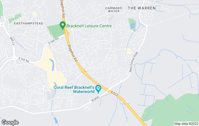 Map for Duncan Yeardley Estate Agents, Bracknell