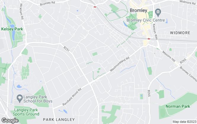 Map for Aegis Residential, UK
