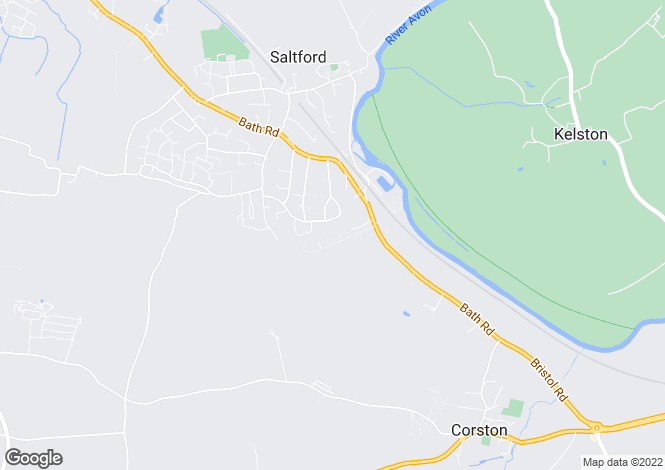 Map for Saltford, near Bath
