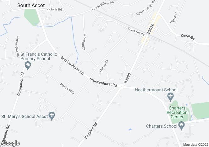 Map for Murray Court, Sunninghill, Berkshire, SL5