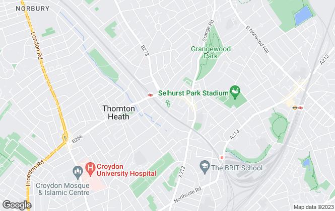 Map for Premier Assets , Thornton Heath,