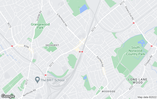 Map for First Option Estate Agents, South Norwood