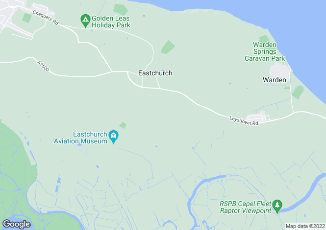 Map for Sunrise, New Rides Farm, Leysdown Road, EASTCHURCH, Isle Of Sheppey, Kent