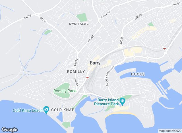 Map for Nina Estate Agents, Barry