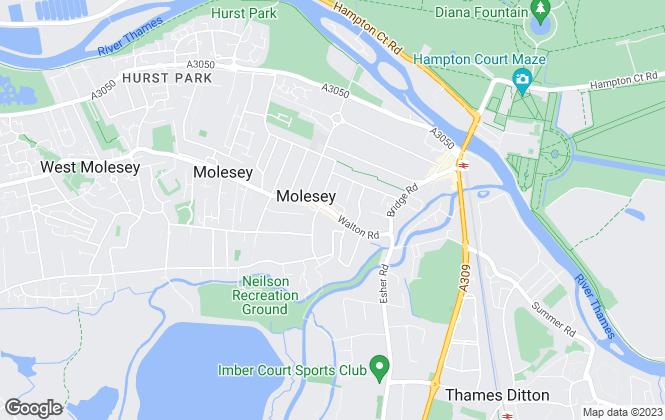 Map for Tudor & Co, Surrey