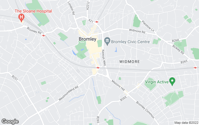 Map for Bromley Property Company, Bromley