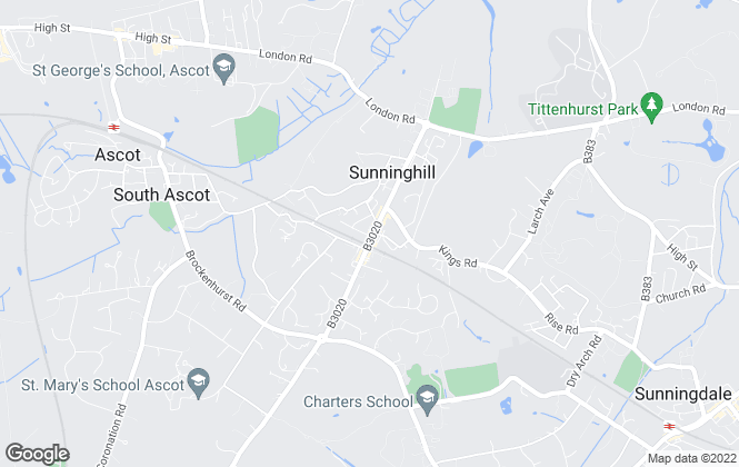 Map for Caroline Clark & Associates Ltd, Sunninghill - Lettings