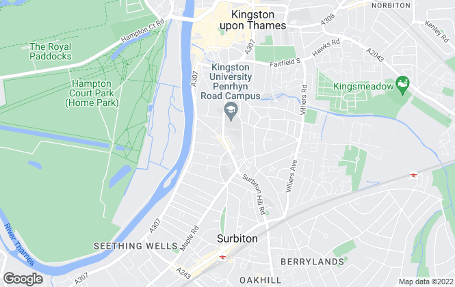 Map for Century 21, Kingston Upon Thames