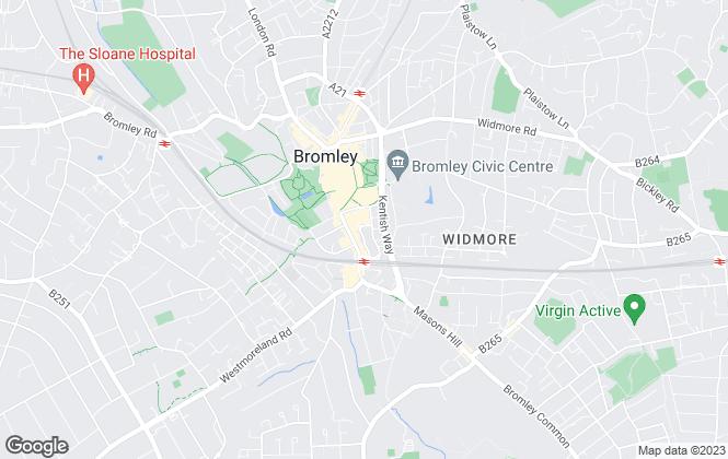 Map for Goatley Hirst Ltd, Bromley