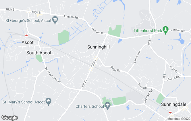Map for Sapphire Estate Agents, Ascot