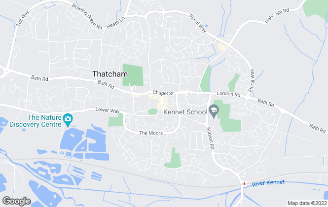 Map for Roots Estate Agency Ltd, Thatcham