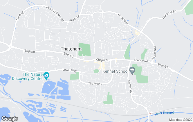 Map for Henwick Properties, Thatcham