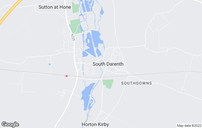 Map for gps lettings, South Darenth - Lettings