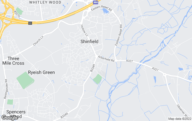 Map for Davis Tate, Shinfield