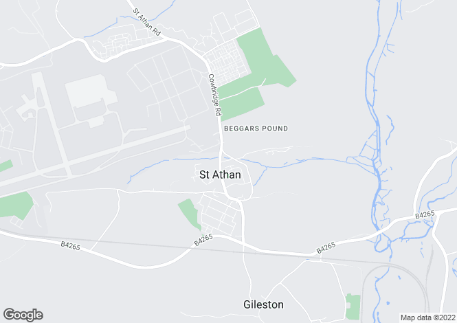 Map for Beggars Pound ST ATHAN