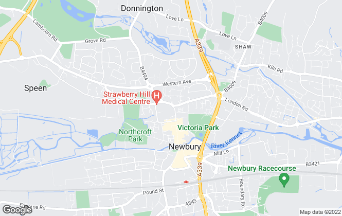 Map for Savills, Newbury