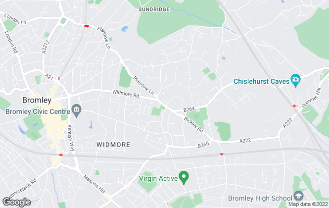Map for Browne Estates, Bromley