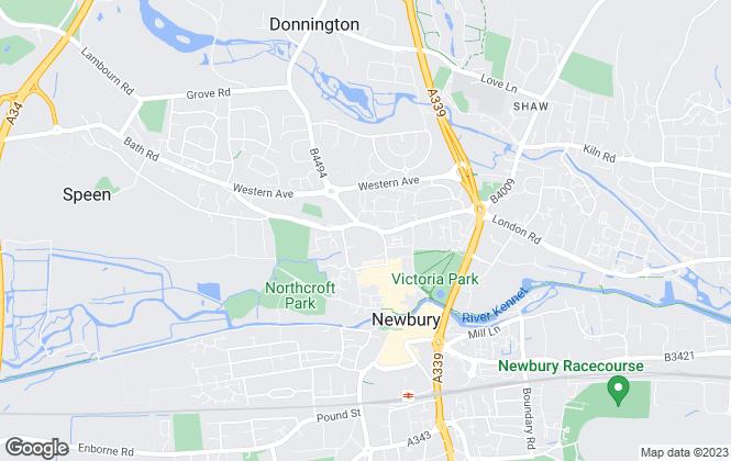 Map for Northwood Investors, Newbury