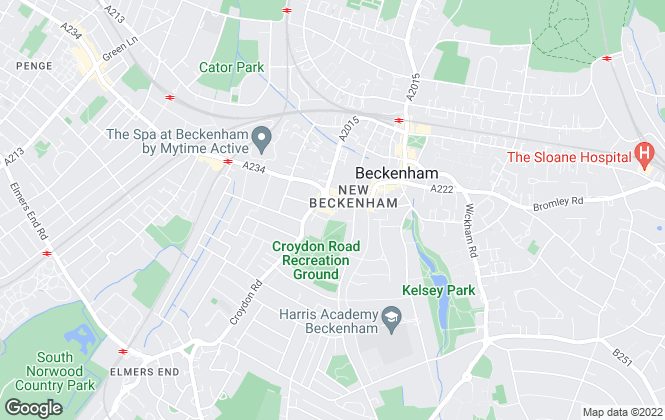 Map for Orchard & Shipman Residential, London - Lettings
