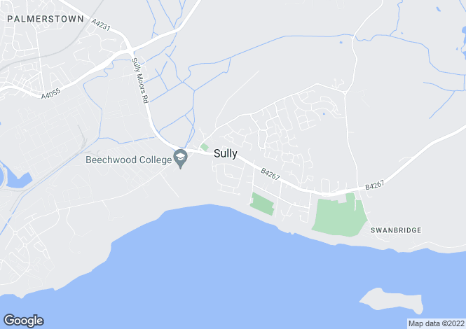 Map for SULLY, Minehead Avenue