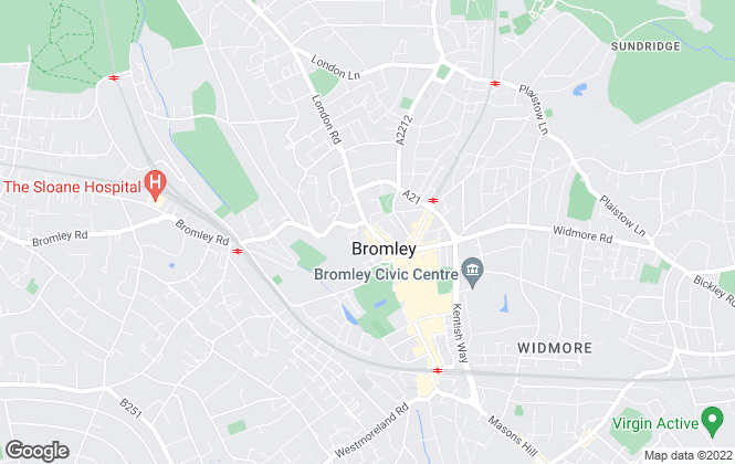 Map for Northleach Property Management Ltd, Bromley