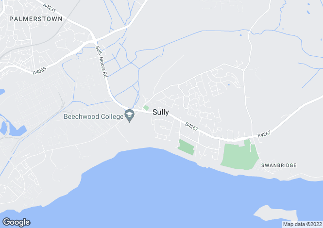 Map for The Croft, Sully, Vale Of Glamorgan, CF64 5TG