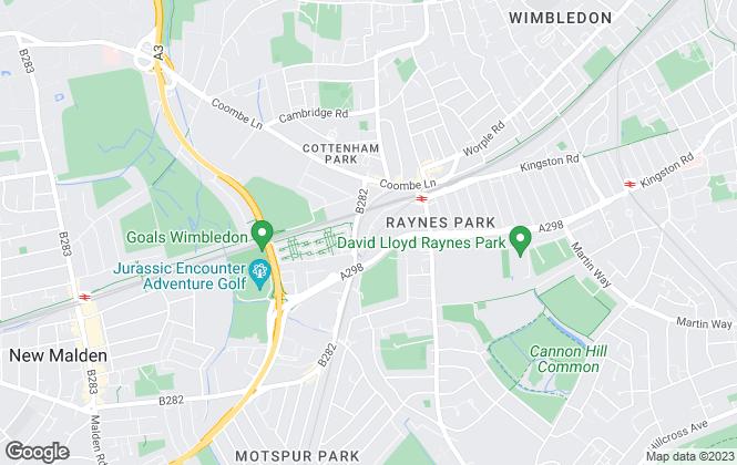 Map for Kinleigh Folkard & Hayward - Lettings, Raynes Park