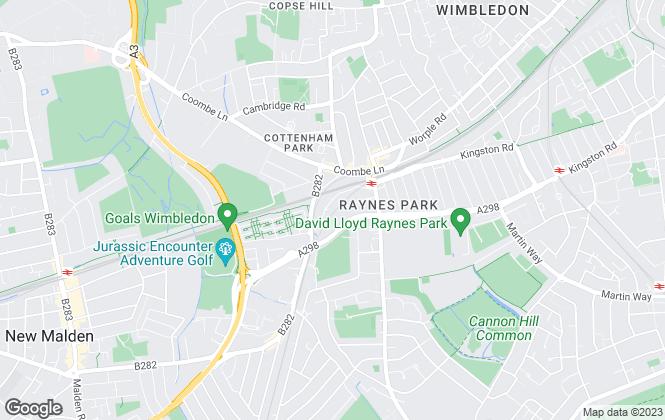 Map for Kinleigh Folkard & Hayward - Sales, Raynes Park
