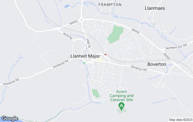 Map for Chris Davies Estate Agents, Llantwit Major