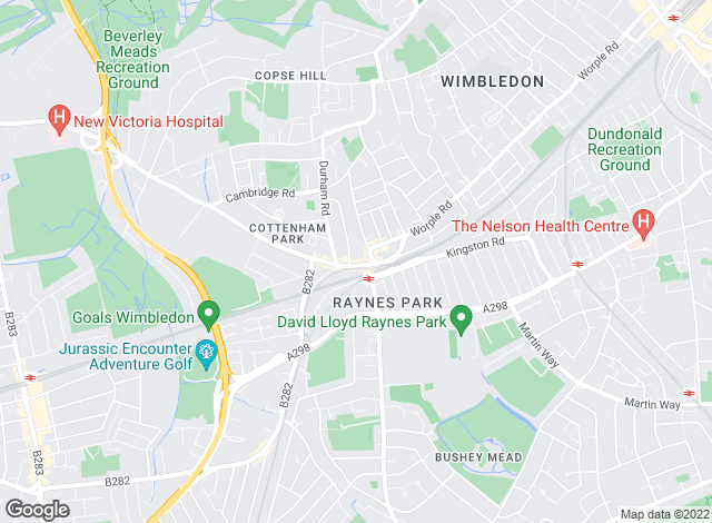 Map for Goodfellows, Raynes Park