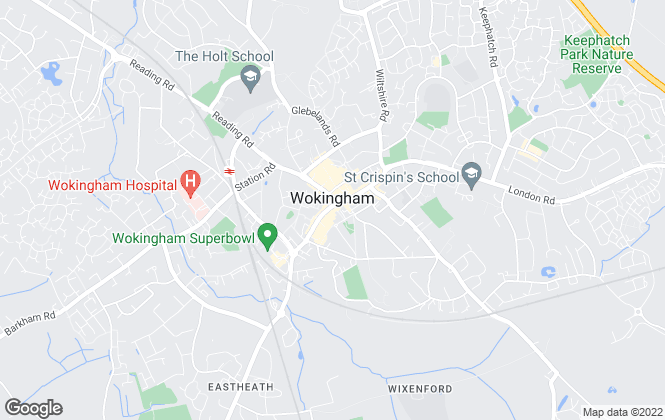 Map for Romans, Wokingham - Lettings