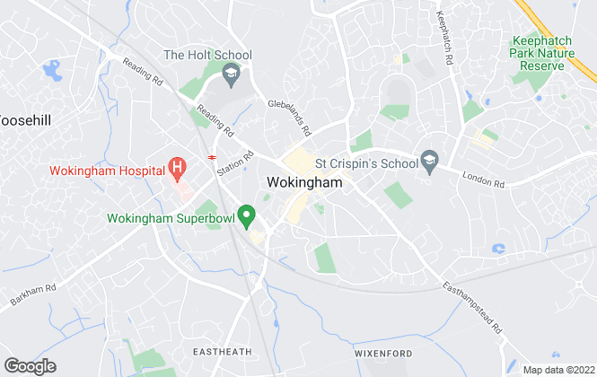 Map for Sears Property, Wokingham