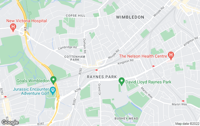 Map for Fuller Gilbert & Co, West Wimbledon