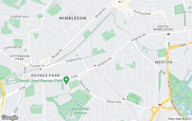 Map for Montfort Estates Ltd, London
