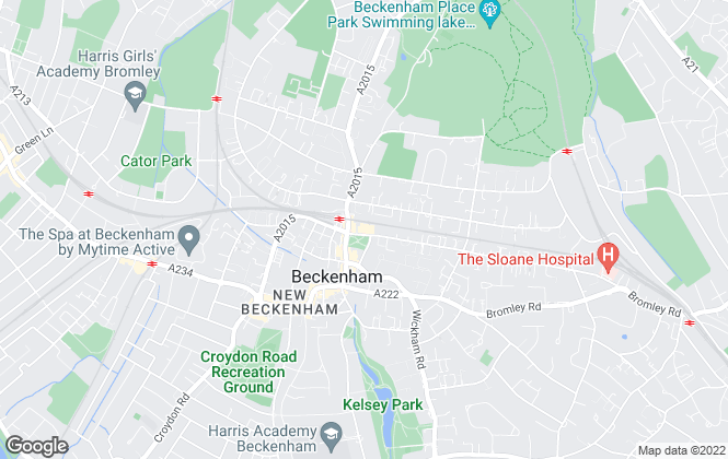 Map for Kinleigh Folkard & Hayward - Lettings, Beckenham
