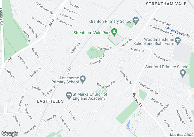 Map for Grove Road, MITCHAM, Surrey, CR4 1AE