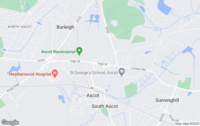 Map for Osborne Heath, Ascot