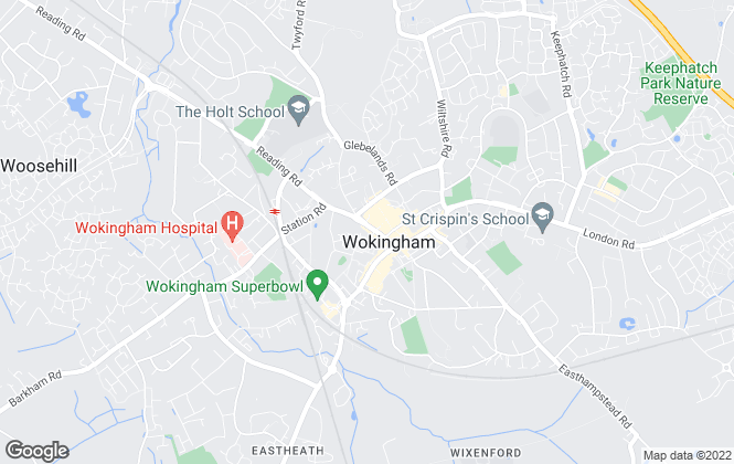 Map for Chancellors, Wokingham Lettings