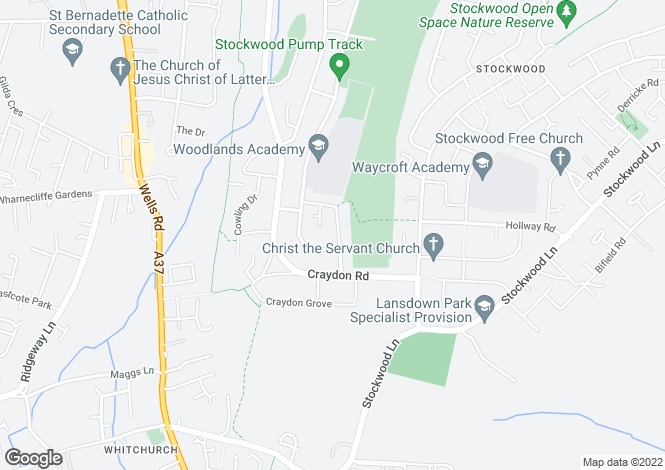 Map for Stockwood