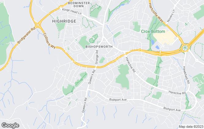 Map for Brunelcare, (Relets) Waverley Gardens