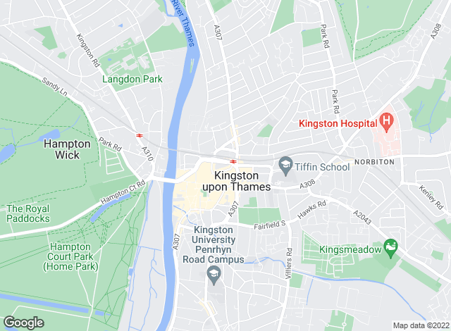 Map for Lords Estate Agents , Kingston
