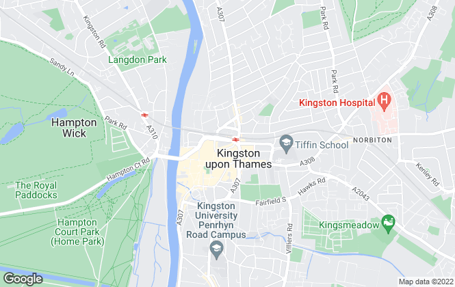 Map for Lords Estate Agents , Kingston - Sales