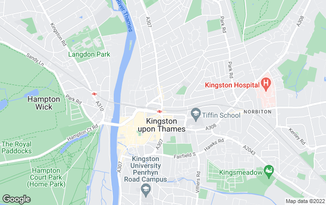 Map for Gibson Lane, Kingston Upon Thames - Sales & Lettings
