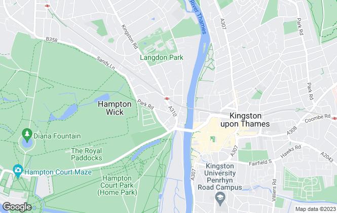 Map for Simon & Simon Property Services, Kingston Upon Thames