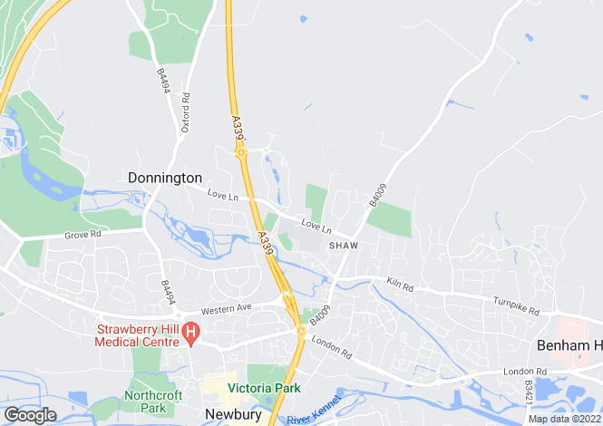 Map for Newbury